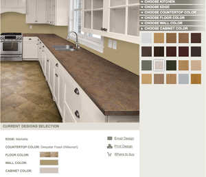 VT Kitchen Countertops redesigned