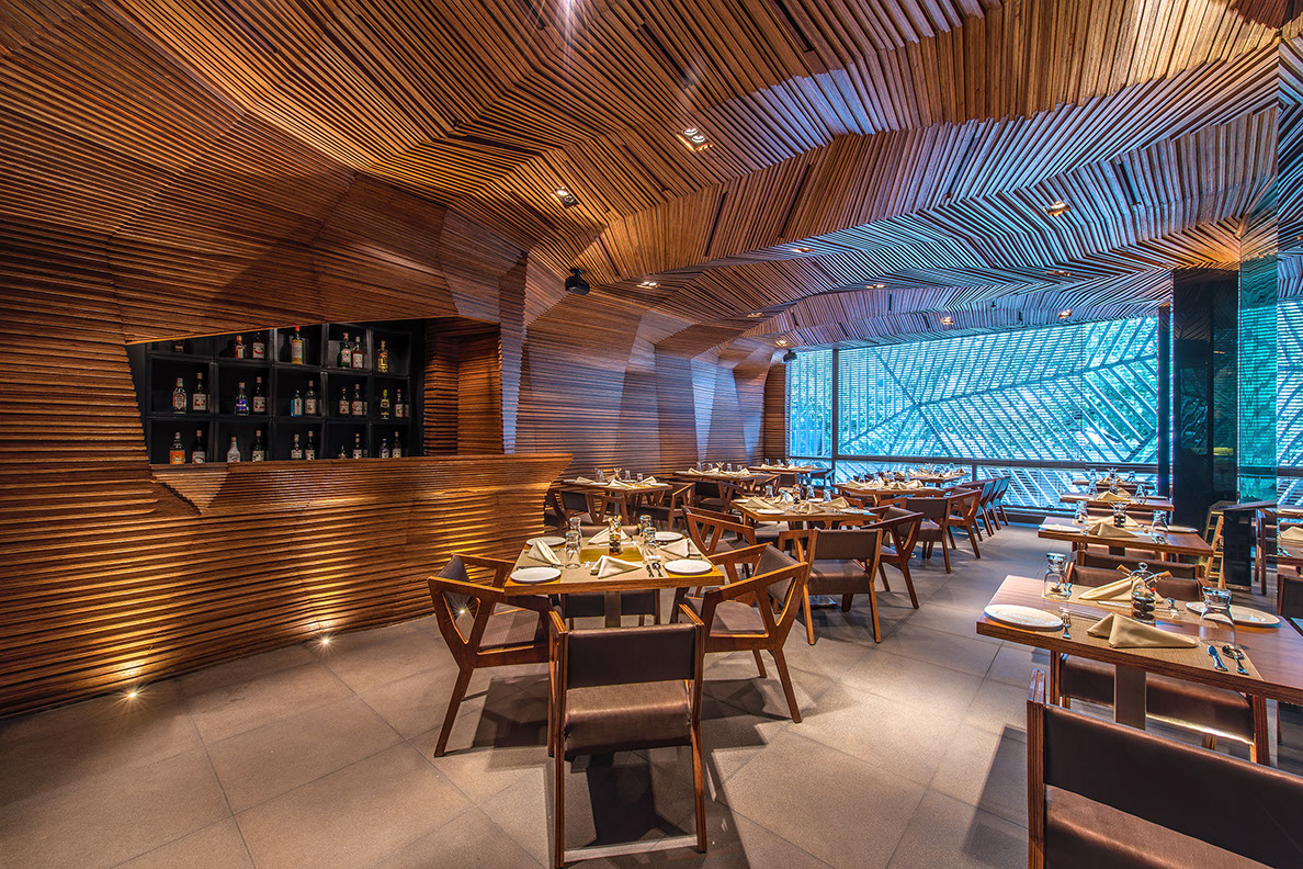 Restaurant Kitchen Wall Finishes a parametric design madehand and pencil | architect magazine